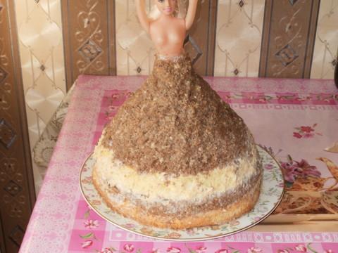 торт из мастики кукла барби с пошаговым рецептом