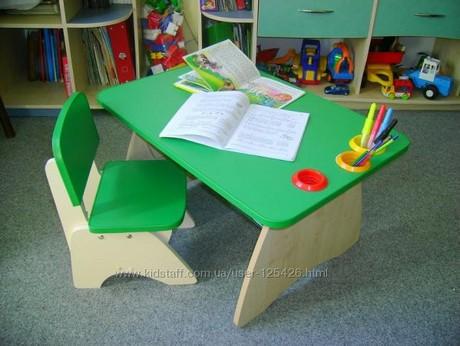 Столик и стульчик для детей от 2 лет  украина