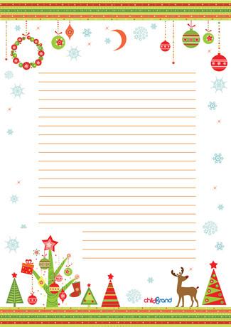 бланк письма деду морозу бланк