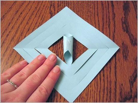 Как сделать из бумаги что то новогодние