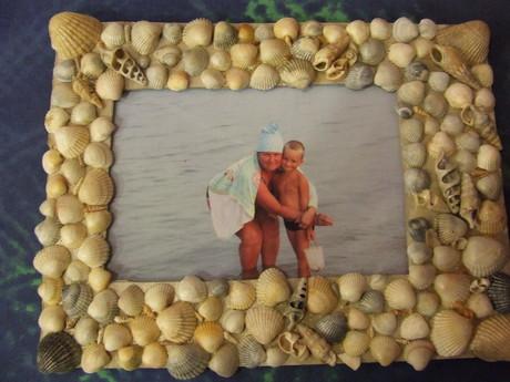 Поделки из ракушек на день рождения бабушке 11