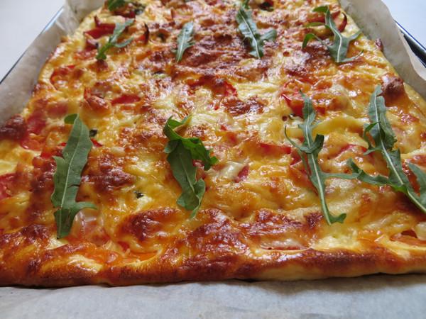 Пицца без муки рецепт фото