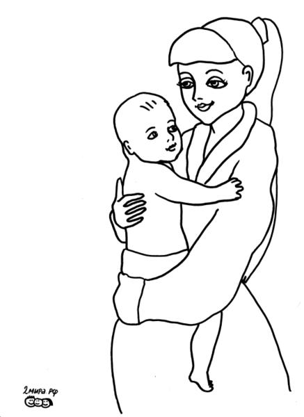 Картинки материнство 4 класс раскраски, лет