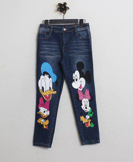 джинсы с микимаусом с доставкой
