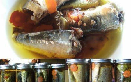 рибні консерви в домашніх умовах рецепт