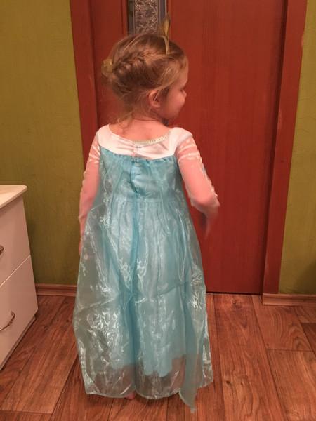 Платье эльза хвасты