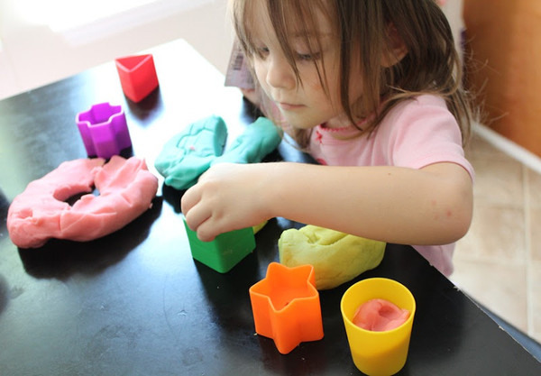 Масса для лепки для детей своими руками