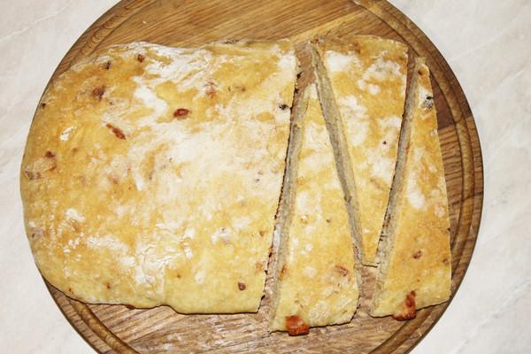 Чиабатта с сыром и луком рецепт