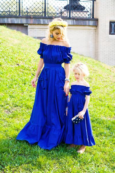 Платье для мамы и дочки сшить