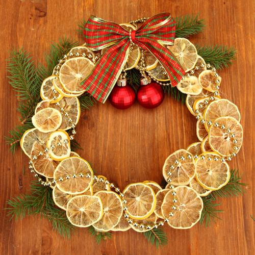 Венки рождественские своими руками из макарон