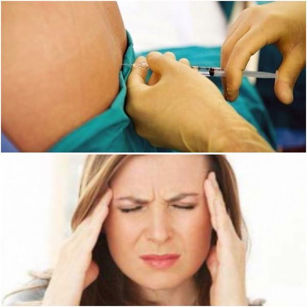 После спинальной анестезии сильно болит голова