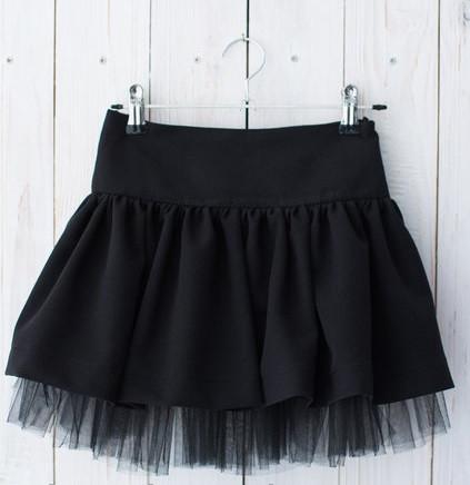 Школьная юбка с фатином