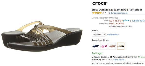 crocs damen amazon