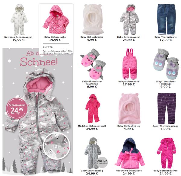 Finden Sie den niedrigsten Preis Gutscheincode Verkaufsförderung Новая зимняя коллекция на http://www.ernstings-family.de ...