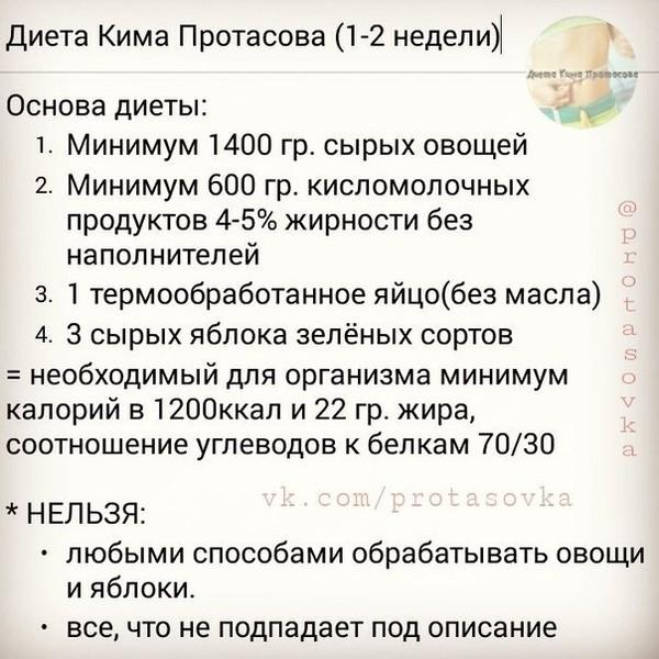 Эффективно худеем на диете кима протасова tochka. Net.