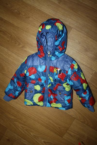 7046a57dfdca Демисезонная куртка на мальчика, размер 2. Мы носили с 1,5 до 2,5 лет.В  хорошем состоянии. Носили осенью и зимой, курточка теплая.