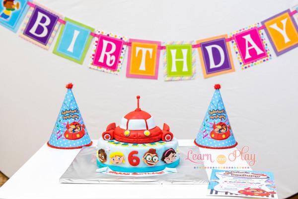 программа на день рождения для 6 лет