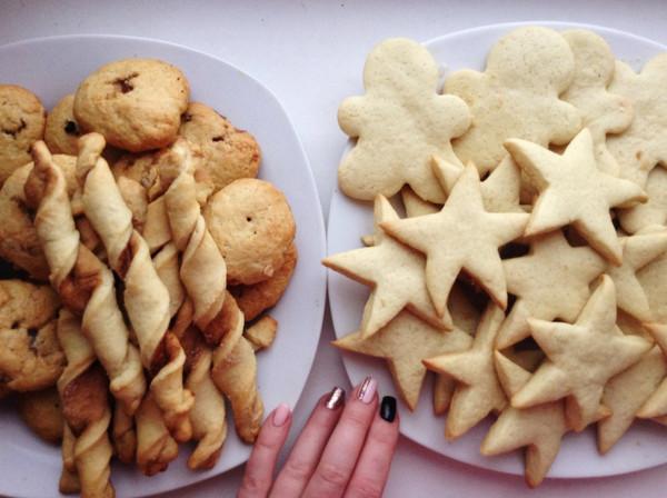 Как сделать постные печенье
