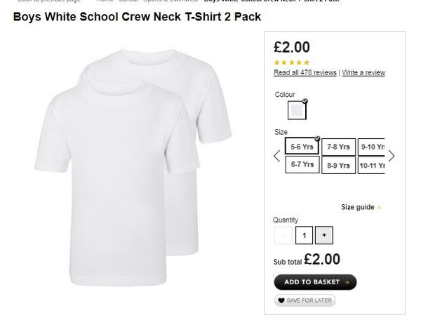 4aba9a1664bba8 ... https   direct.asda.com george school sports-swimwear girls-school-2- pack-crew-neck-t-shirts-white GEM69911