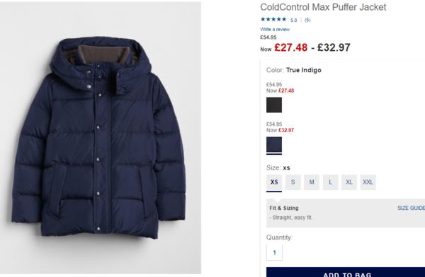 1e0177ca540a08 GAP Англія знижки на верхній одяг, Акции заграничных магазинов ...