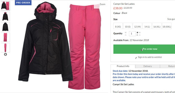 cbc8cfa583 ... https   ua.sportsdirect.com campri-ski-set-ladies-408501 colcode 40850103  ...