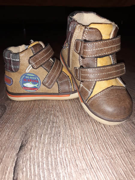 Демі черевички для хлопчика на флісі. 24 розмір 69ea8536ab841