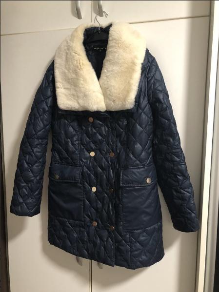 c5dac21711aa Продам модную куртку с воротом из шиншилового кролика, Барахолка ...