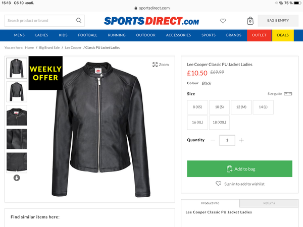 https   www.sportsdirect.com lee-cooper-classic-pu-jacket-ladies -669467 colcode 66946703 8822bdf9847