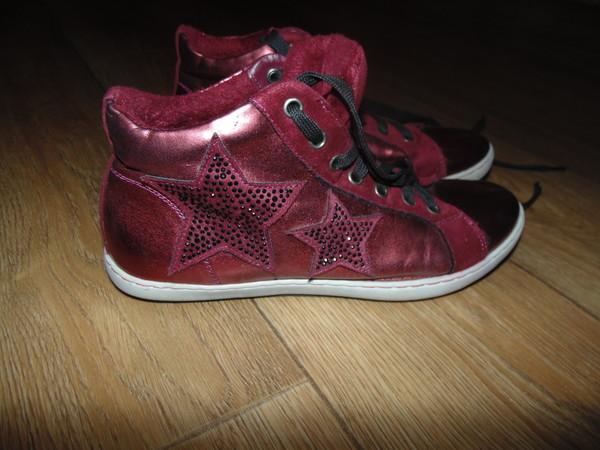 180408c852c9 Кеды кроссовки 38 рр бордо как новые сток , Барахолка. Детская обувь ...