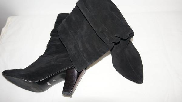 bf8313973b48ea Стильные ботинки, натуральный замш, р.37, Барахолка. Женская обувь ...
