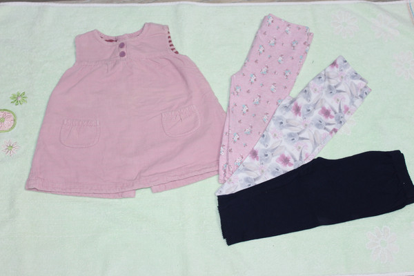 одяг для дівчинки до 1 року пакетом ЛОТ № 2 є фото 46d2d8165dfcd