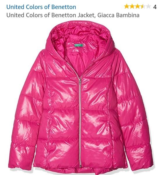 United Colors of Benetton Jacket Giacca Bimba