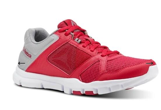 b01de555 Новые летние кроссовки Reebok ,оригинал. По стельке 26 см. Реальный цвет  малиновый .750 грн