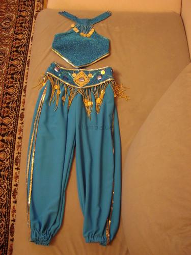 Сшить костюм восточной для девочки своими руками